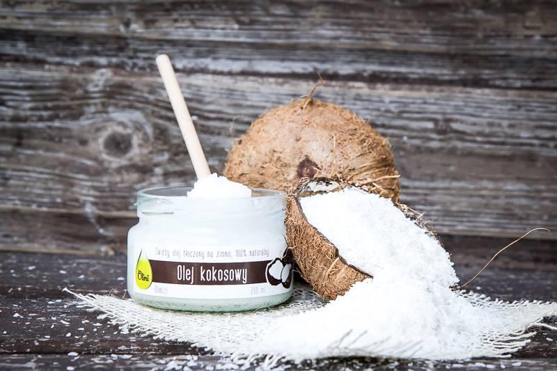Olej kokosowy Olini w diecie