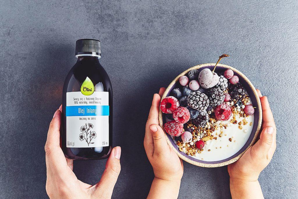Olej  w zdrowej diecie