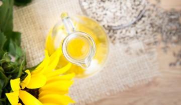 Olej słonecznikowy Olini - do stosowania kosmetycznego
