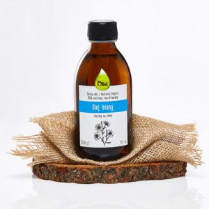 Olej lniany idealny do shake proteinowego