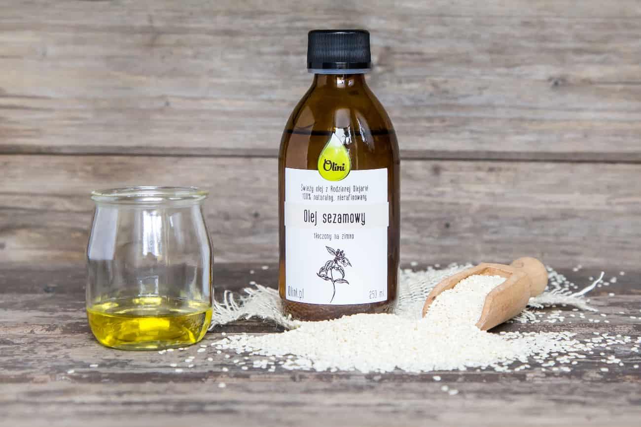 zastosowanie oleju sezamowego w kuchni