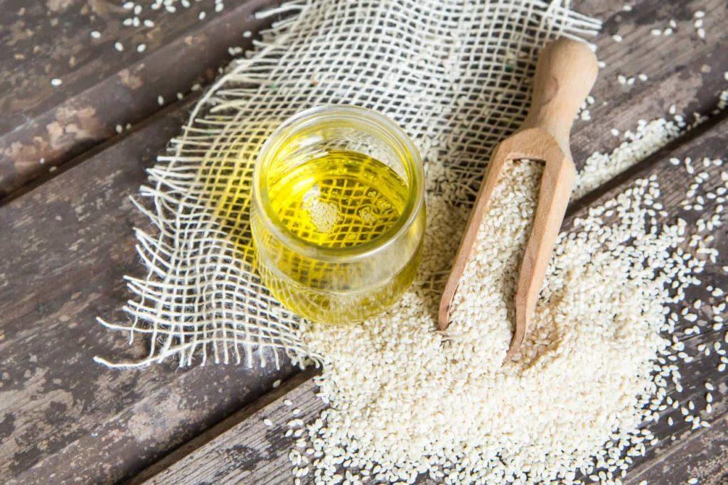 Olej sezamowy do smażenia potraw