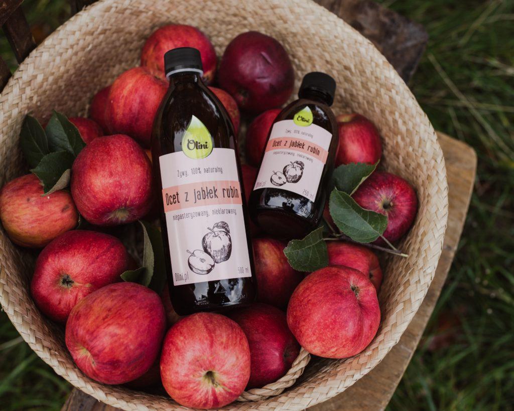 Napoje z octem jabłkowym